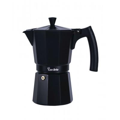 Гейзерная кофеварка Con Brio CB-6409