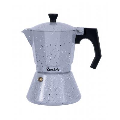 Гейзерная кофеварка Con Brio CB-6703