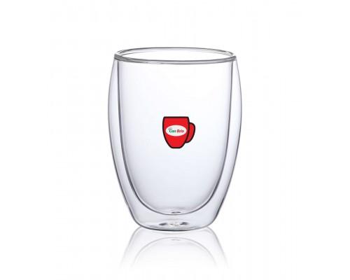 Набор стаканов с двойными стенками Con Brio CB-8335