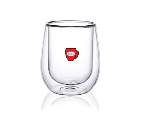 Набор стаканов с двойными стенками Con Brio CB-8720