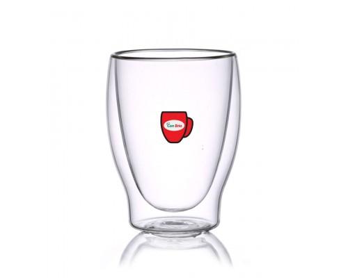 Набор стаканов с двойными стенками Con Brio CB-8831