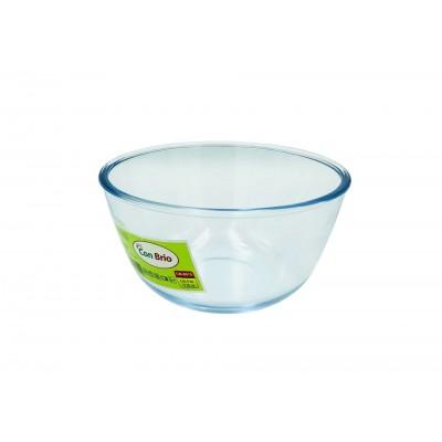 Стеклянный салатник Con Brio CB-8015