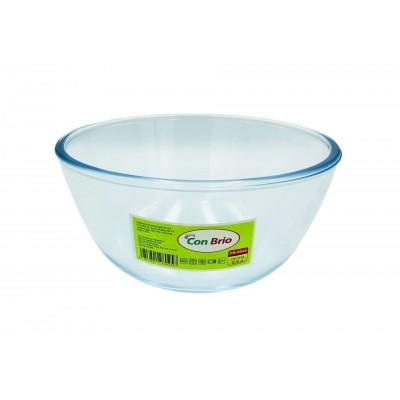 Стеклянный салатник Con Brio CB-8025