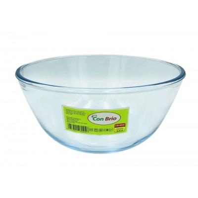 Стеклянный салатник Con Brio CB-8045
