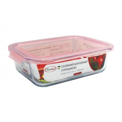 Скляний контейнер Con Brio CB-8115
