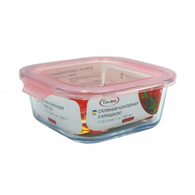 Скляний контейнер Con Brio CB-8180