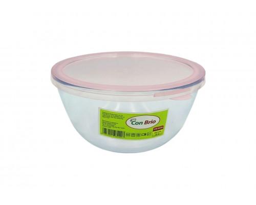 Стеклянный салатник Con Brio CB-8220