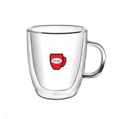 Набір чашок з подвійними стінками Con Brio CB-8423