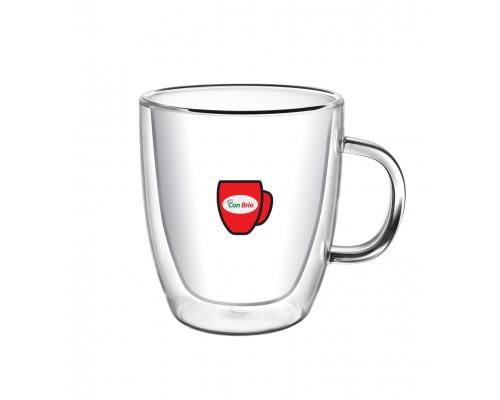 Набор чашек с двойными стенками Con Brio CB-8423