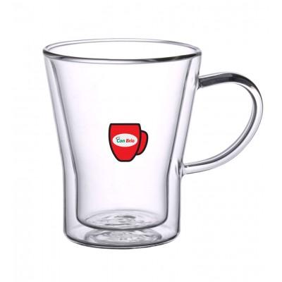 Набір чашок з подвійними стінками Con Brio CB-8528