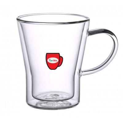 Набір чашок з подвійними стінками Con Brio CB-8535