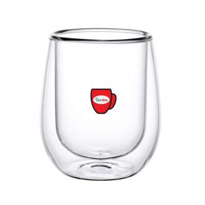 Набір склянок з подвійними стінками Con Brio CB-8730