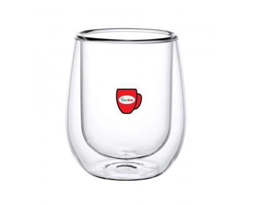 Набор стаканов с двойными стенками Con Brio CB-8730